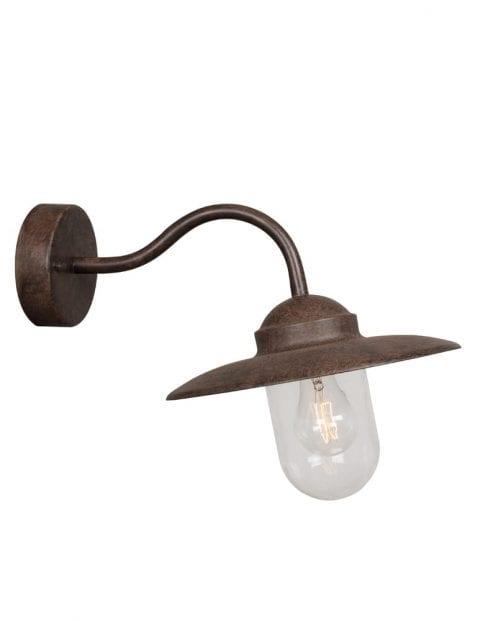 Vintage lamp bruin-2319B