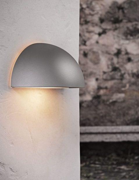Wandlamp-buiten-halve-bol-grijs-2338GR-1