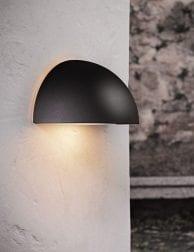Wandlamp-buiten-halve-bol-zwart-2335ZW-1
