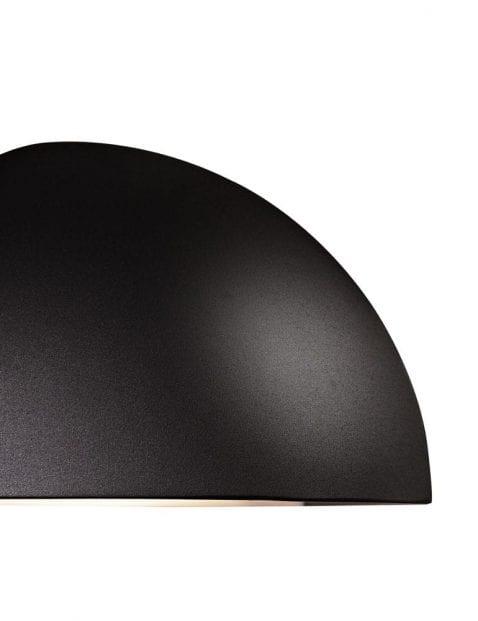 Wandlamp-buiten-halve-bol-zwart-2335ZW-2
