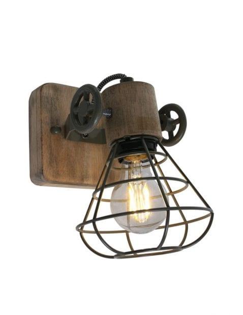 Wandlamp industrieel draad-1578G