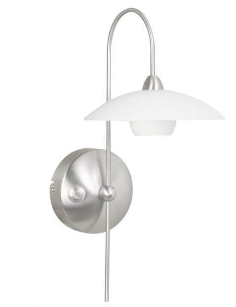 Wandlamp klassiek staal-2929ST