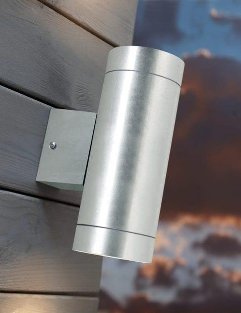 Wandlamp-staal-2155ST-1