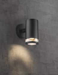 Wandlamp-zwart-metaal-2153ZW-1