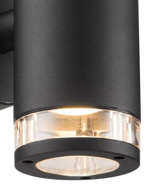 Wandlamp-zwart-metaal-2153ZW-2