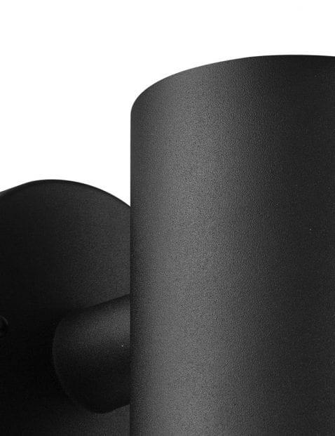 Wandlamp-zwart-metaal-2153ZW-3