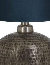 Zilveren-lampenvoet-9974ZI-1