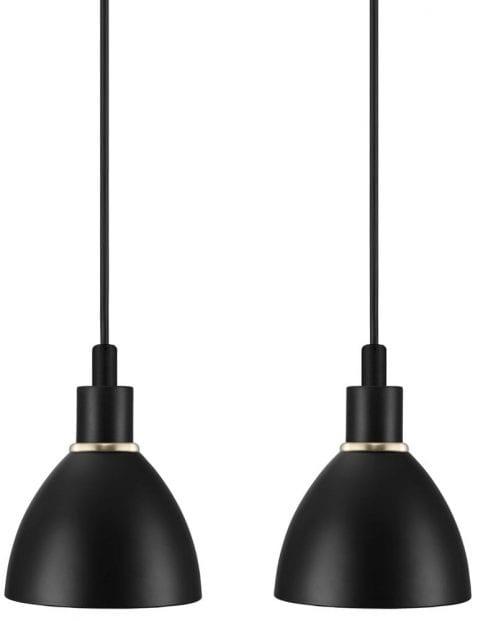 Zwart klein hanglampje-2358ZW