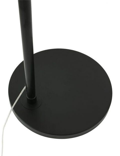 Zwarte-booglamp-met-taupe-kap-9850ZW-3