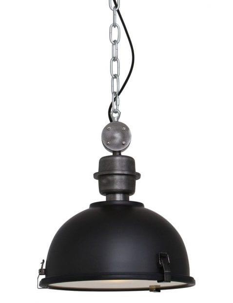 Zwarte industriele hanglamp-7978ZW