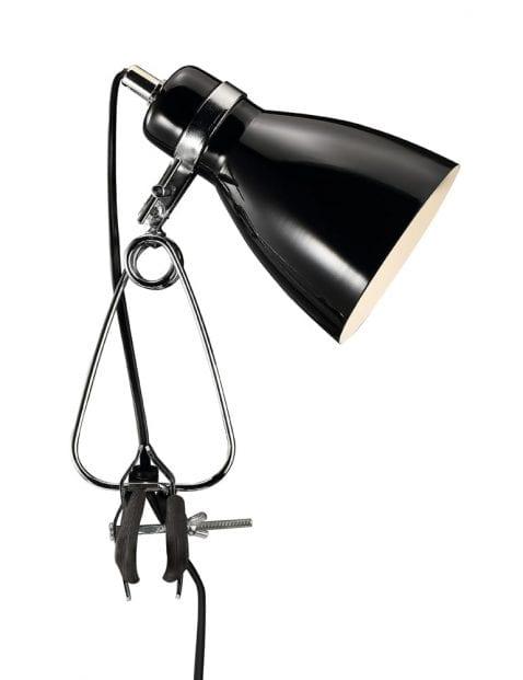 Zwarte klemlamp-2170ZW