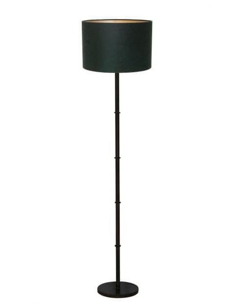 Zwarte landelijke lampenvoet-9988ZW