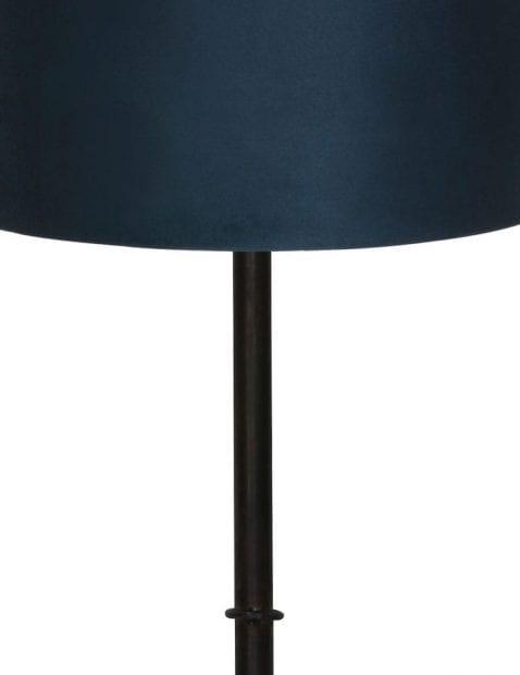 Zwarte-landelijke-lampenvoet-9989ZW-1