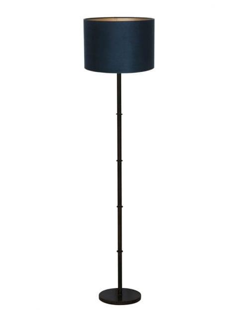 Zwarte landelijke lampenvoet-9989ZW