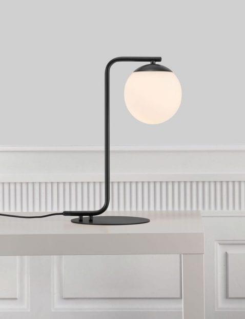 Zwarte-tafellamp-bol-2406ZW-4