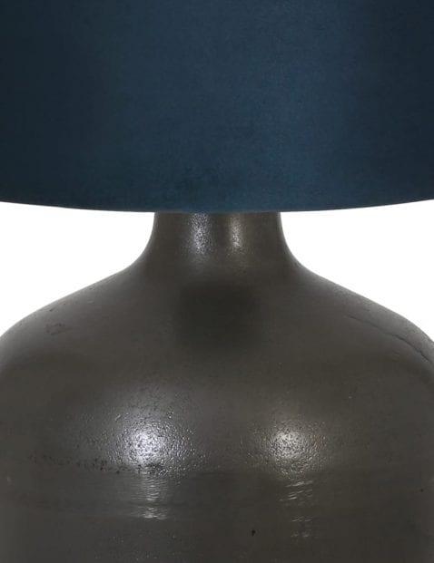 Zwarte-vaaslamp-landelijk-9275ZW-1