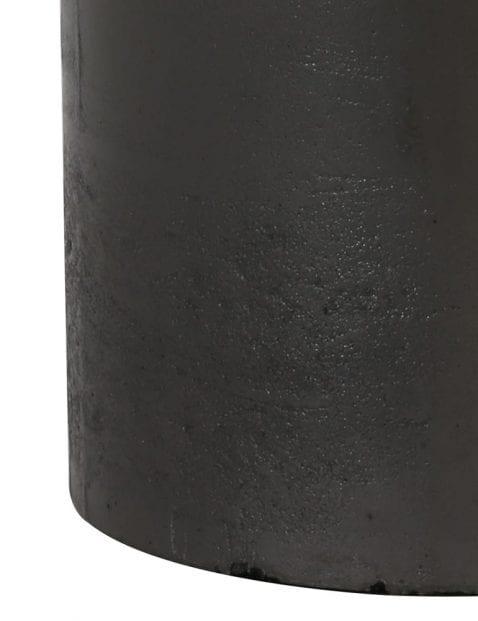Zwarte-vaaslamp-landelijk-9276ZW-3