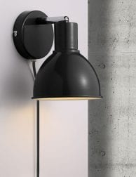 Zwarte-wandlamp-industrieel-2345ZW-1