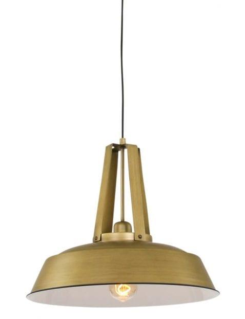 industriele hanglamp goud-7704GO