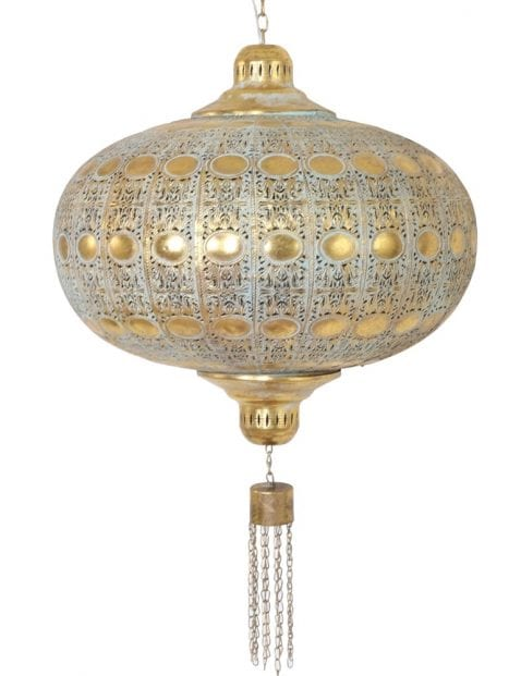 oosterse hanglamp goud-7918GO