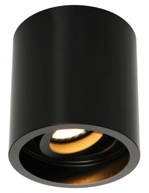 opbouwspot-rond-zwart-1731ZW-1
