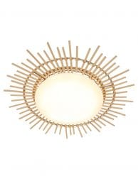 bamboe plafondlamp zon-1894W