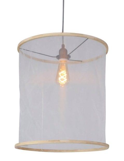 doorschijnende hanglamp katoen-7993W