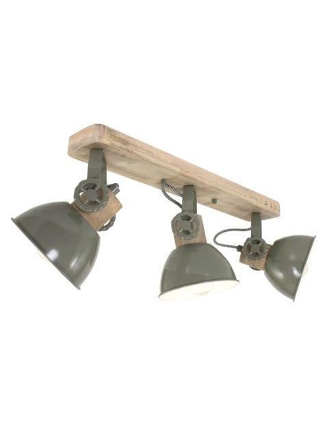 groene-industriele-3-lichts-plafondlamp-2133G-1