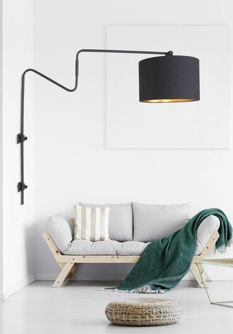 industriele-boog-wandlamp-met-zwarte-kap-2131ZW-2