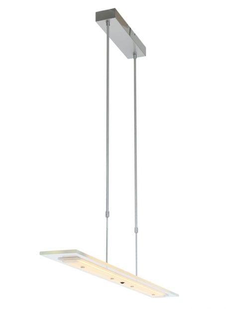 moderne-glasplaat-lamp-staal-1727ST-10