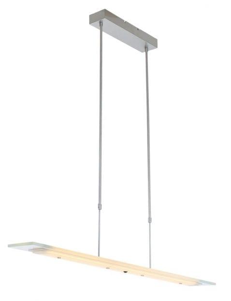 moderne glasplaat lamp staal-1727ST