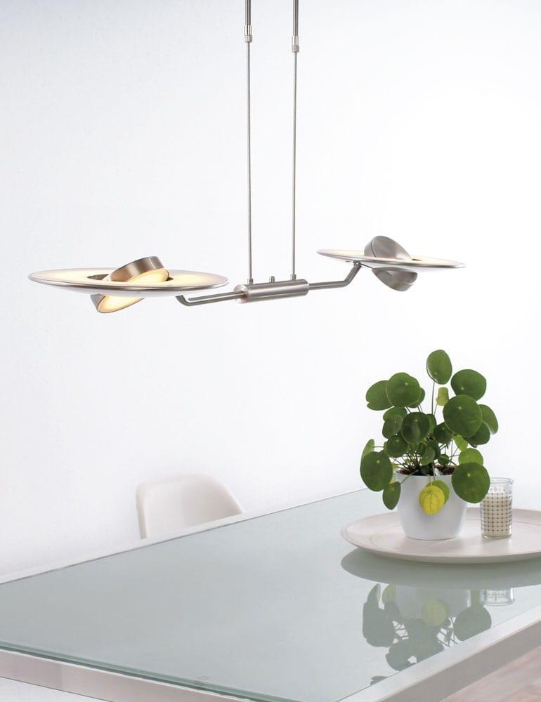 stalen hanglamp uplight klassiek-2428ST