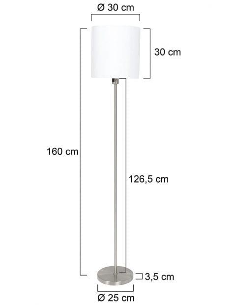 vloerlamp-met-witte-ronde-kap-1564ST-7