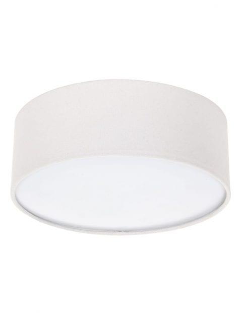 beige-stoffen-plafondlamp-rond-9202W-2