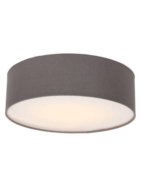 grote stoffen plafondlamp bruin-9203W