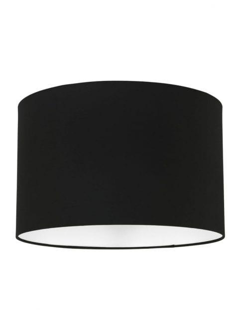 kleine ronde zwarte lampenkap zwart-K7976SS
