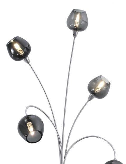 meerlichts speelse wandlamp zwart-9223ST