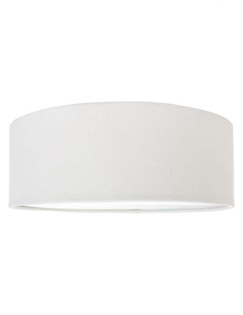 ronde grote witte lampenkap-K7827QS