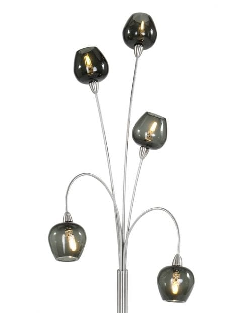 speelse meerlichts tafellamp zwart-9220ST