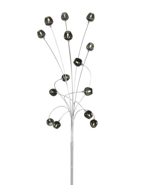 speelse meerlichts vloerlamp zwart-9217ST