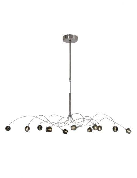 speelse moderne hanglamp meerlichts zwart-9229ST