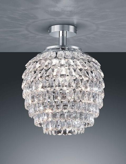Kristallen plafondlamp Reality Petty