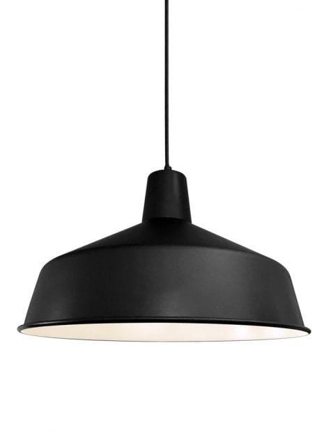 Metalen hanglamp Mexlite Blackmoon zwart