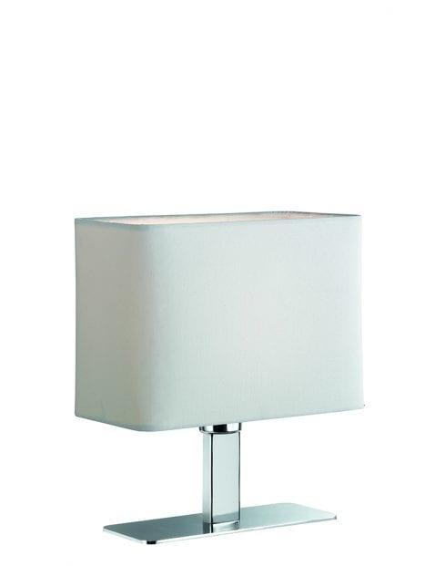Modern bedlampje Reality Ming wit