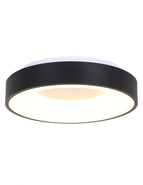 Moderne plafondlamp groot Steinhauer Ceiling and Wall zwart