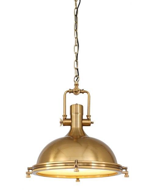 Klassiek gouden hanglamp Mexlite Eliga