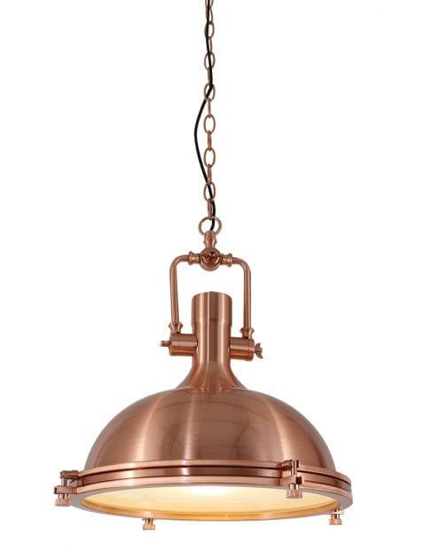 Koperen hanglamp met authentieke look Mexlite Eliga