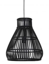 Platte houten draadlamp - 2872ZW