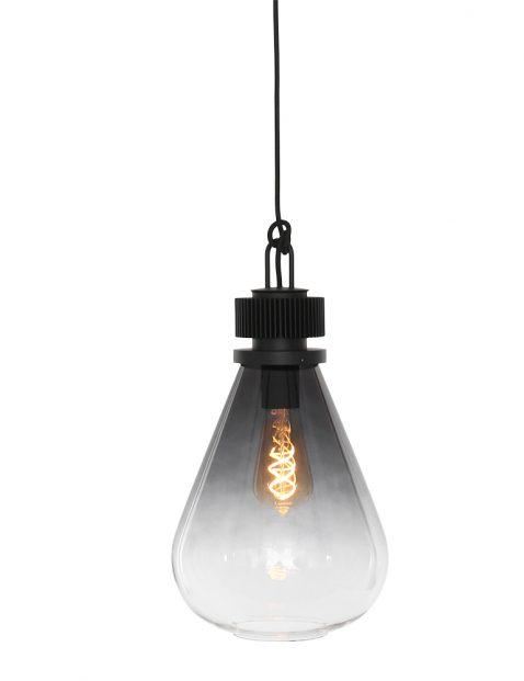2670ZW-Druppelvormige hanglamp