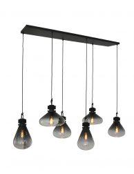 2672ZW-Zeslichts hanglamp